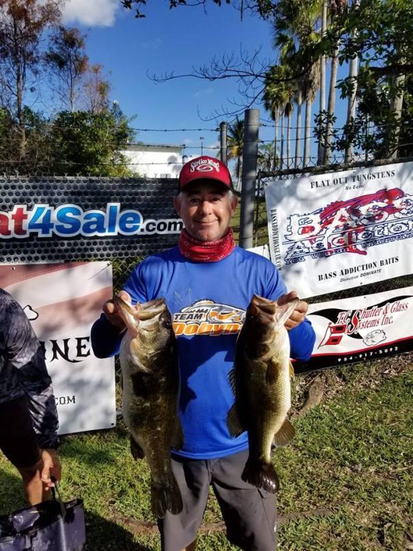 2nd place Ricardo Abresu and Joe D'ORIO 27.3